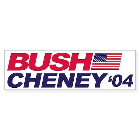 Bush/Cheney Bumper Sticker