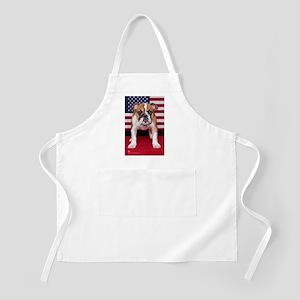 All American Bulldog Apron