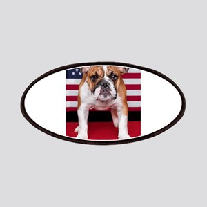 All American Bulldog Patches