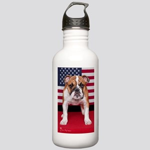 All American Bulldog Stainless Water Bottle 1.0L