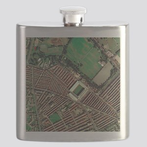 Liverpool's Anfield Stadium, aerial view - Flask