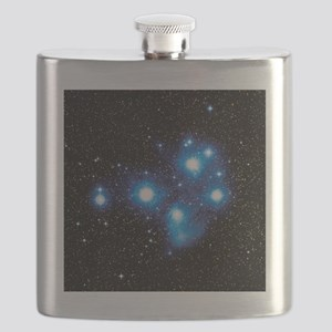 Optical image of the Pleiades star cluste - Flask