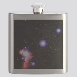 Optical image of the stars of Orion's belt - Flask