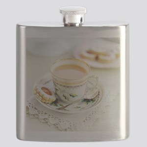Tea and biscuits - Flask