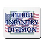 3ID Logo/US Flag Mousepad