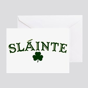 Slainte stationery cafepress slainte toast to your health greeting card m4hsunfo