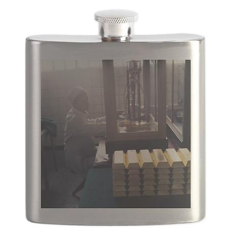 Gold ingots - Flask