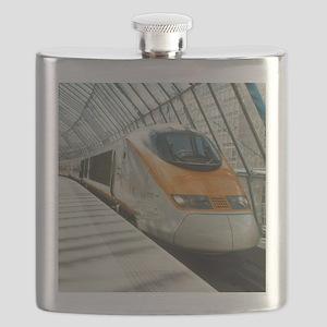 Eurostar Channel Tunnel train - Flask