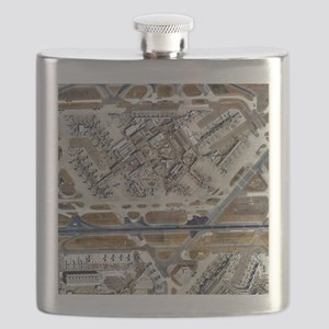 Heathrow Airport, UK, aerial image - Flask