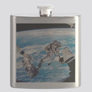 ISS space walk - Flask