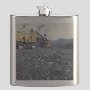 Open cast coal mining - Flask