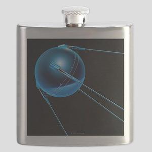 Sputnik 1 satellite - Flask
