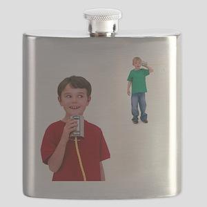 Tin can telephone - Flask