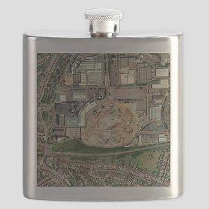 Wembley Stadium being rebuilt, 2003 - Flask