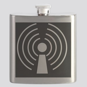 Wireless internet symbol - Flask