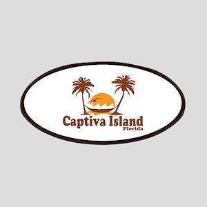 Captiva Island - Palm Trees Design. Patches