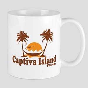 Captiva Island - Palm Trees Design. Mug