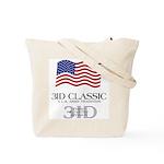 3ID Logo/US Flag Tote Bag