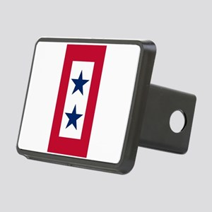 Blue Star Flag 2 Rectangular Hitch Cover