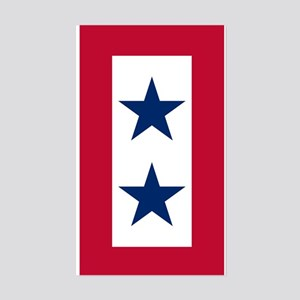 Blue Star Flag 2 Sticker (Rectangle)