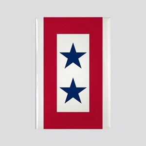 Blue Star Flag 2 Rectangle Magnet