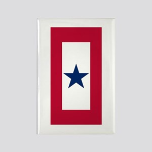 Blue Star Flag Rectangle Magnet