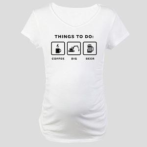 Excavator Maternity T-Shirt