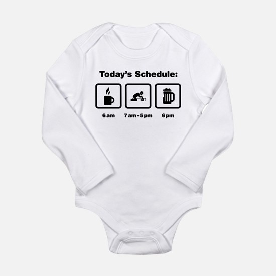 Archaeologist Long Sleeve Infant Bodysuit