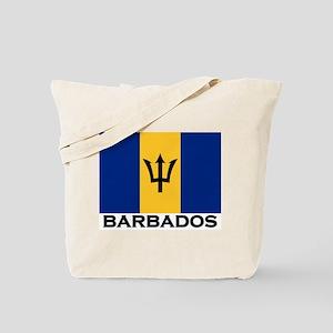 Barbados Flag Stuff Tote Bag