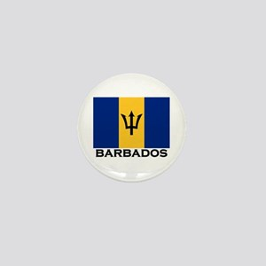 Barbados Flag Stuff Mini Button
