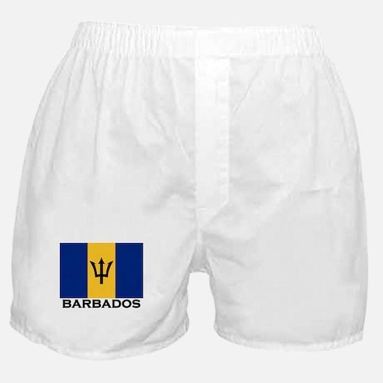 Barbados Flag Stuff Boxer Shorts
