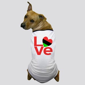 African American Love Dog T-Shirt