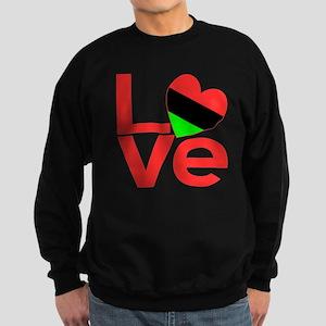 African American Love Sweatshirt (dark)
