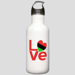 African American Love Stainless Water Bottle 1.0L