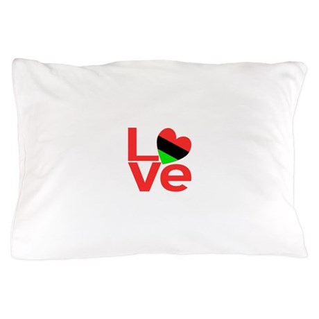 African American Love Pillow Case