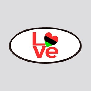 African American LOVE Patches