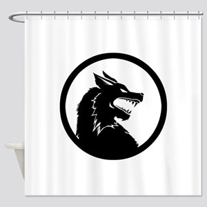 Wolf Sigil Shower Curtain