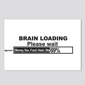 Brain Loading Postcards (Package of 8)