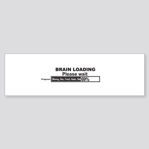 Brain Loading Sticker (Bumper)
