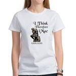 The Geek God's Women's T-Shirt