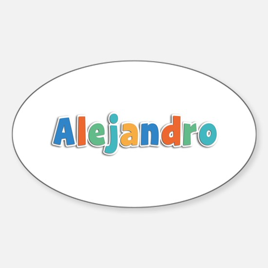 Alejandro Spring11B Oval Decal