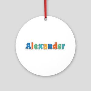 Alexander Spring11B Round Ornament