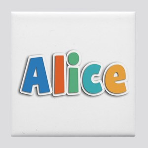 Alice Spring11B Tile Coaster