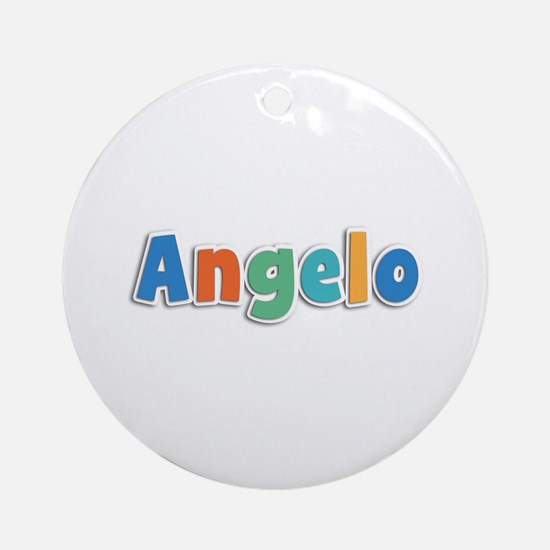 Angelo Spring11B Round Ornament