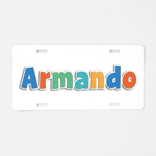 Armando Spring11B Aluminum License Plate