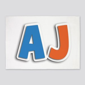 AJ Spring11B 5'x7' Area Rug