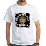 Yahshua Lion White T-Shirt