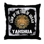 Yahshua Lion Throw Pillow