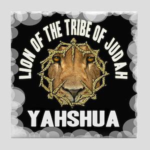 Yahshua Lion Tile Coaster