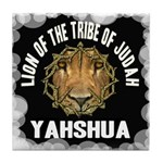 Yahshua Lion Tile Coaster